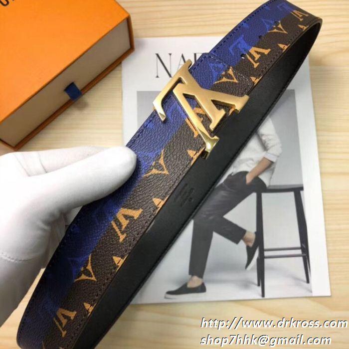 ルイ ヴィトン LOUIS VUITTON 夏の大人カジュアル メンズ/レディース  2色可選 ベルト 19春夏正規品保証