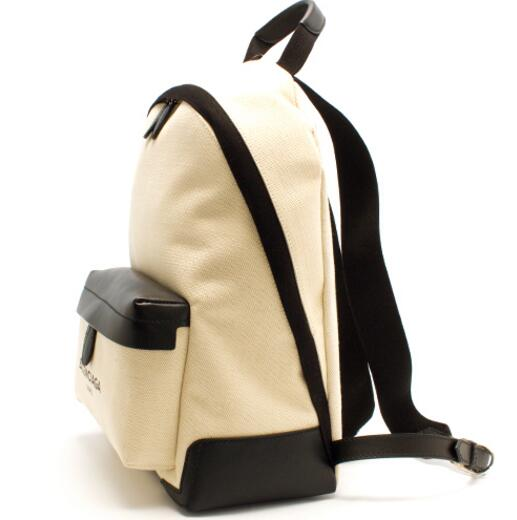 バレンシアガ バッグ 高品質 バックパック レディース バッグ メンズ 高級品 ブラック ナイロン BALENCIAGA リュックサック 409010 AQ38N 1081