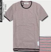 2017スゴイ人気売れ中! THOM BROWNE、トムブラウン  コピー  半袖Tシャツ._品質保証