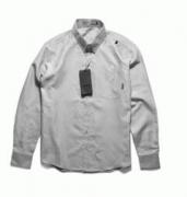 より高級感を高めNEIGHBORHOOD ネイバーフッド長袖シャツ 偽物ブルー グレー_品質保証
