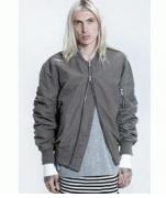 ストリートにあふれる FOG フィアオブゴッド シャーリングキレイめジャケット ブラック カーキ_品質保証