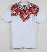 定番アイテムMarcelo Burlon  マルセロバーロン 半袖Tシャツ コピー メンズファッションホワイト_品質保証