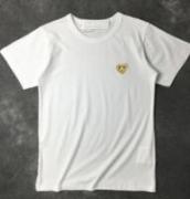 ブランドロゴ刺繍COMME des GARCONS コムデギャルソン 半袖 Tシャツ ユニセックス_品質保証