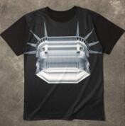 モードな雰囲気Neil Barrett ニールバレット通販Tシャツ コピー ブラック 半袖_品質保証