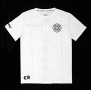 上質な肌触りCHROME HEARTS クロムハーツ メンズTシャツ 半袖ホワイト ブラック_品質保証