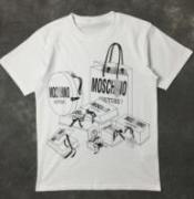 今っぽくてオシャレMOSCHINO モスキーノ  ロゴプリント半袖Tシャツ コピーホワイト 夏物_品質保証