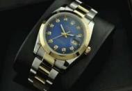 心をつかまえるROLEX ロレックス ブルー文字盤ウォッチ 男性用腕時計_品質保証