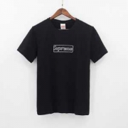 超激得定番 17SS  半袖Tシャツ 2色可選  SUPREME×KAWS BOX LOGO_品質保証