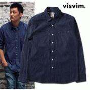 2017年定番新品VISVIM  ビズビム デニムシャツ メンズ長袖 カジュアル 無地_品質保証