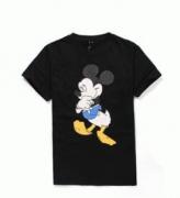 ミッキープリントNeil Barrett ニールバレット メンズtシャツ 人気 ブラック 半袖クルーネック_品質保証