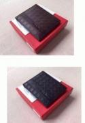 FERRAGAMO フェラガモ 財布 メンズ アマゾン レザー二つ折りブラック ブラウン財布 ウォレット_品質保証