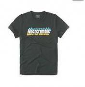 ブラックtシャツロゴ グラフィックAbercrombie&Fitch アバクロ tシャツ メンズコットン 半袖_品質保証