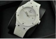 ウブロビッグバン ホワイトキャビア hublot 時計 男女兼用ウォッチ日付表示 自動巻き 3針 39MM セラミック ラバー346.HX.2800.RW_品質保証