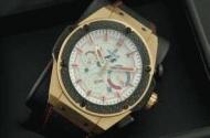 ウブロ時計hublot スーパーコピー キングパワー メンズウォッチ F1 自動巻き 6針 日付表示 46MM ラバー ゴールド_品質保証