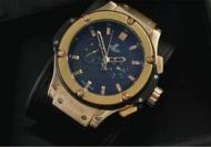 ウブロ ビッグバンhublot スーパーコピー  メンズ 時計  自動巻き ゴールド geneve 人気 高級腕時計 サファイヤクリスタル風防_品質保証