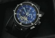 hublot キングパワー F1メンズ 時計 ウブロ芸能人 愛用 腕時計 自動巻き 青文字盤 トゥールビヨン人気 時計 ウォッチ_品質保証
