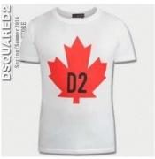 ディースクエアード 通販 DSQUARED2 半袖 tシャツ メンズ ロゴ入り コットンクルーネックホワイト ブラックメンズ ファッション_品質保証