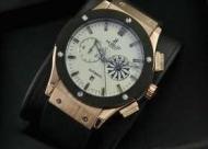 完売メンズ 時計の再入荷!HUBLOTウブロ腕時計コピー ビッグバンド ホワイト文字盤人気 腕時計 ゴールド_品質保証