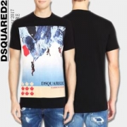 2017春夏 半袖Tシャツ 爆買いお買い得 DSQUARED2 ディースクエアード 3色可選_品質保証