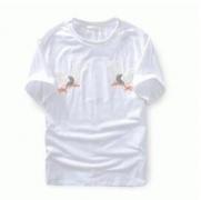 2016-17春夏新作人気Off-White オフホワイト tシャツ 通販 レディース メンズ半袖 Tシャツ ホワイト ブラック 鷹刺繍 カジュアル夏服_品質保証