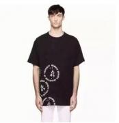 お得大人気OFF-WHITE  オフホワイト Tシャツ コピーメンズ半袖 Tシャツ 綿 ブラック ホワイト グレー プリント クルーネック_品質保証