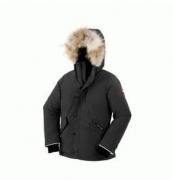 数量限定セールCANADA GOOSE カナダグース 2017 子供用ダウンジャケット 可愛いアウター 保温性高いジャケット ブラック グレー ブルー_品質保証