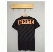 OFF-WHITE オフホワイト コピー 人気 春夏新作 半袖Tシャツ メンズ ブラック コットン クルーネック 品質保証 メンズファッション通販_品質保証