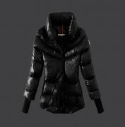 17年秋冬アウター 激安 MONCLER モンクレール 偽物 ダウンジャケットブラック ダウンコート レディースファッション_品質保証