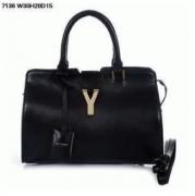 爆買い定番人気 イヴサンローラン スーパーコピー ハンドバッグ 高品質 Yves Saint Laurent バッグ ショルダーバッグ ブラック 女性用 レディース
