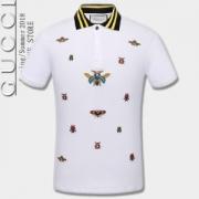 グッチ GUCCI 2018春夏新作 綺麗に決まるフォルム!2色可選  半袖Tシャツ 高級感ある