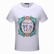 ヴェルサーチ VERSACE 海外セレブ定番愛用  人気 半袖Tシャツ  2018春夏新作 2色可選