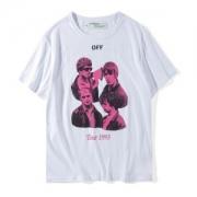 大人気半袖TシャツTOUR 1993 THE ENDオフホワイトOFF-WHITEプリントコットンメンズクルーネックomaa014S171851321028ブラックレディースホワイト