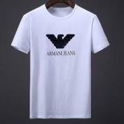 シークイン鷹ロゴTシャツ デザインARMANIアルマーニメンズ半袖コットンクルーネック品質にこだわりブラック黒白大人気完売品2018新作