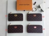 デザイン性に優れた LOUIS VUITTON 財布4色可選 2018春夏新作 ルイ ヴィトン