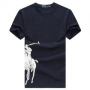 超高機能シンプルTシャツ おすすめ半袖メンズポロラルフローレンPolo Ralph Lauren夏新作コットンプリントクルーネックトップスレッドブラックブルー