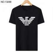 ARMANIアルマーニTシャツ コットンジャージー半袖3Z1T881J00Z10922ラウンドネック人気新作プリント柄ロゴ入りメンズ無地トップス100%新品