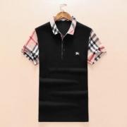 チェック柄18年今シーズン新作夏BURBERRYバーバリー ポロシャツ メンズVIP価格ロゴ半袖ブラックホワイトメンズコットンSALEカジュアル