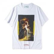 海外最新モデル 半袖Tシャツ Off-White 高級感溢るオフホワイト 2色可選