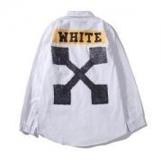 柔らかい生地大人っぽいシャツオフホワイト コピー 通販OFF-WHITEお得大人気活躍ロックストリートメンズシャツ