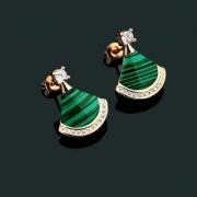 上品キレイ話題となる人気品 BVLGARI 4色可選 ピアス好感度の高い人気販売 ブルガリ