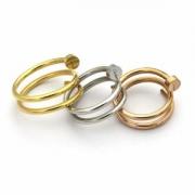 18新品*最安値保証 3色可選 指輪 カルティエランキング1位入賞 CARTIER オンライン販売