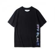 個性的になりすぎ  Off-White オフホワイト 半袖Tシャツ 2色可選 OFF BLACK 2019トレンドスタイル!