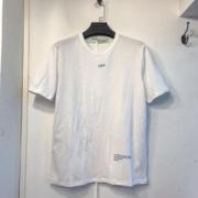 2019年春夏の流行アイテム 春夏のコレクションで新作 Off-White オフホワイト 半袖Tシャツ off-white 19 2色可選