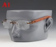 限定商品を手に入れるには カルティエ サングラス メンズ ファション CARTIER ウッドテンプル メガネ クラシック 品質保証