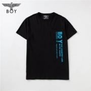 ボーイロンドン メンズ コピー BOY LONDON 丸首 Tシャツ 無地 ブラック トップス コットン ゆったり ストリート 品質保証