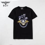 ボーイロンドン サイズ 大きめ コピー BOY LONDON 丸首 Tシャツ ドクロ プリント ブラック トップス メンズ ストリート
