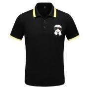 フェンディ FENDI メンズ ポロシャツ ファッションの最先端 コピー KARLITO カーリト ブラック ホワイト プリント 激安