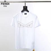 FENDI フェンディ tシャツ コピー 着こなしが簡単につくれるアイテム ユニセックス  ブラック ホワイト プリント 品質保証
