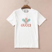 グッチ GUCCI 最新の注目ファッション 半袖Tシャツ 2019年春夏のトレンド カジュアルさが強すぎる 2色可選