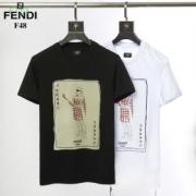 オシャレに見せられます  フェンディ FENDI 2019トレンドスタイル! 2色可選 色にも流行り 半袖Tシャツ カジュアルめなコーデ